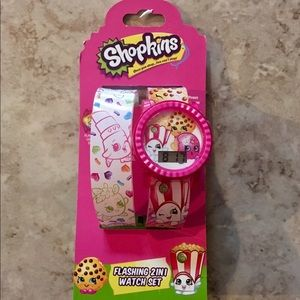 Other - Shopkins watch set